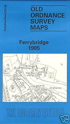 Old Ordnance Survey Map Ferrybridge 1905
