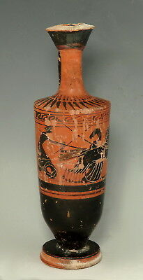 Greek Attic Black-Figure Lekythos (M85)