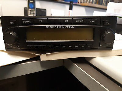 Becker Indianapolis BE7923 MP3 GPS Navigationssystem + 6 Fach DC Wechsler