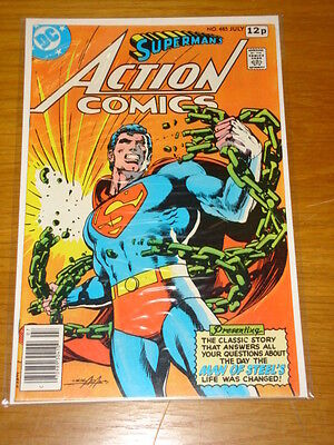 Action Comics #485 Dc Near Mint Condition Superman July 1978