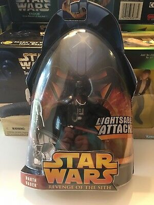Star Wars Darth Vader Rots Lightsaber Attack Sealed New Revenge Of The Sith