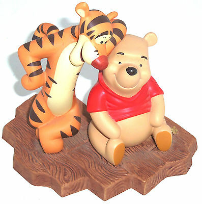 "Disney Traditions /"" Winnie The Pooh /& Tigrou /& Snowman /"" Jim Shore Figurine"