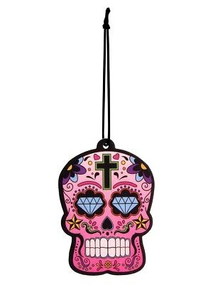Désodorisant pour voiture Day of the Dead Skull Cherry