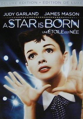 A Star Is Born (2 Disc Deluxe Edition Widescreen DVD) J Garland James Mason *NEW