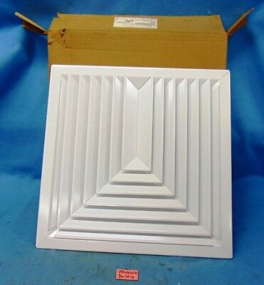 """Titus, 10Xrnd Ceiling Diffusers, 10"""" Coller, 24"""" X 24"""", A157104"""