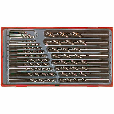 TENG TOOLS NEW FULLY GROUND DRILL BIT SET +STORAGE CUSTODIA 1 - 13mm 28pc