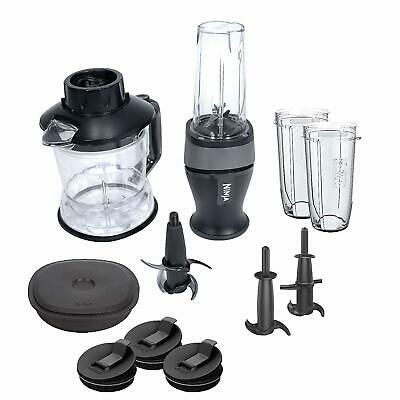 Nutri Ninja 2-in-1 700 WATTS 40 OZ, Black/Silver (QB3005) All-in-One Processor