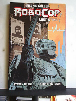 GRAPHIC NOVEL: ROBOCOP - LAST STAND - PART ONE  Paperback 2014 1st print