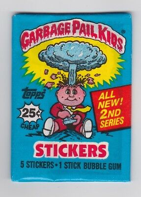 1985 Topps GARBAGE PAIL KIDS Series 2 Unopened Wax Pack