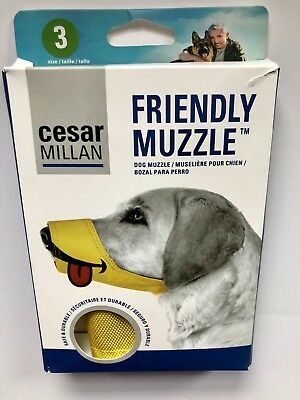 Cesar Millan Dog Friendly Muzzle Size 3