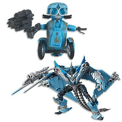 """Transformers The Last Knight - 5.5"""" Sqweeks Autobot + 5.5"""" Strafe Autobot toys"""