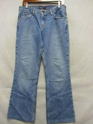 D1218 American Eagle Cool Hemmed Straight Jeans Women 31x29