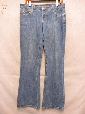 D6627 American Eagle Hipster Cool Stretch Jeans Women 34x32