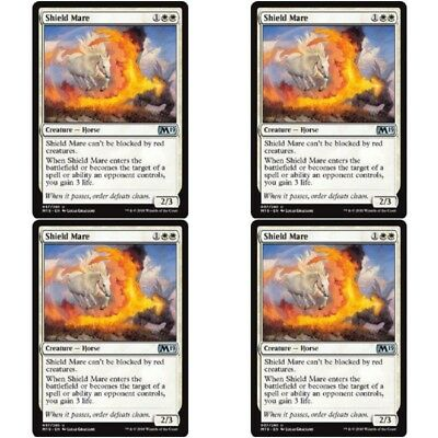 Angel Unc 4 x HERALD OF FAITH NM mtg Core 2019 M19 White