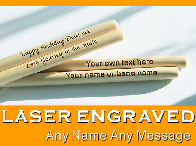 Personalised drum sticks 5A high quality maple wood | Custom Bespoke gift