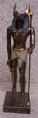 Figurine Statue Ancient Egypt Anubis God of the Dead NEW with gift box