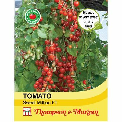 Thompson & Morgan - Vegetable - Tomato Sweet Million F1 Hybrid - 6 Seeds