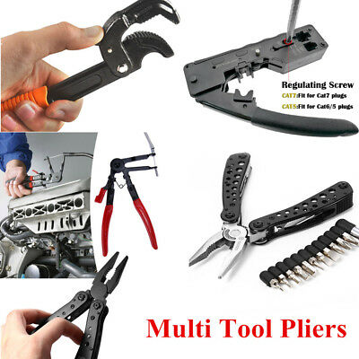 7 Style Outdoor Portable Multifunctional Folding Saw Knife Multi Tool Pliers Kit