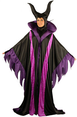 Magnificent Witch Full Length Gown Story Villain Costume Adult Women Plus Size