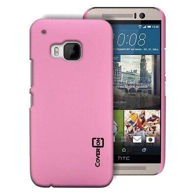 Baby Pink Hard Case for HTC One M9 - Slim Fit Matte Back Phone Cover