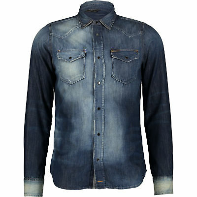 Diesel New-Sonora 0667J 01 Casual Shirt