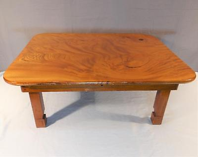 Vintage/Antique Chinese Huanghuali Wood Low Table, Wood Peg Construction