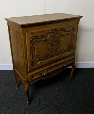 Beautiful Carved French Louis XV Style Drinks Cabinet, Cocktail cabinet