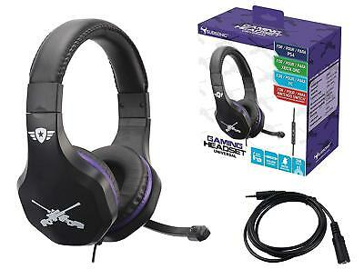 NEW SubSonic Universal Gaming Headset & Mic - PS4/Switch Fortnite Battle Royale