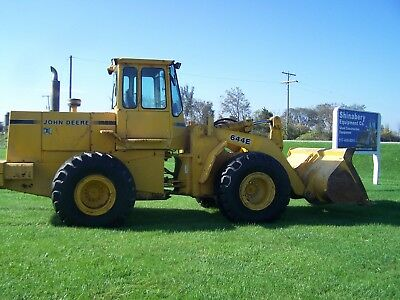 92 John Deere 644E Wheel Loader