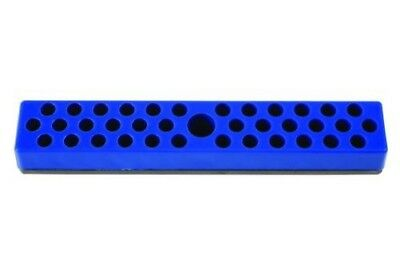 BLUE Magnetic Parts Bits Storage Tray for Toolboxes Holds 36 x 1/4 Drive bits