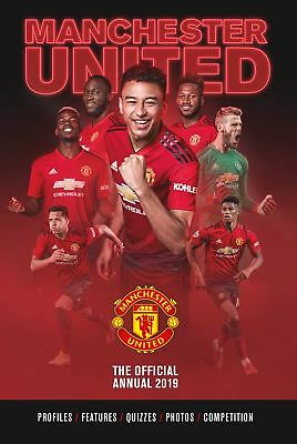 Manchester United FC Official 2019 Annual Brand New Football Book Man Utd