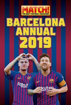 FC Barcelona Official 2019 Annual Match! Brand New Football Book