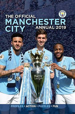 Manchester City FC Official 2019 Annual Brand New Football Book Man City