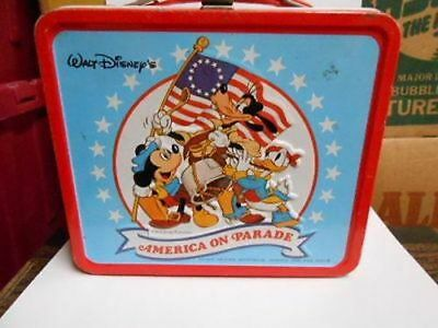 Walt Disney's America on Parade Lunch box 1970s