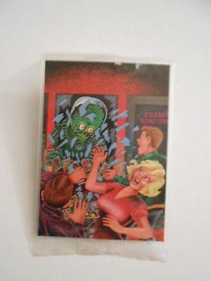 Mars Attacks preview limited issue card sealed pack 1990s