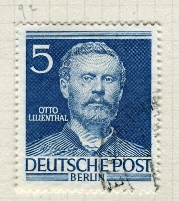 GERMANY; WEST BERLIN 1952-3 Famous Berliners issue fine used 5pf. value