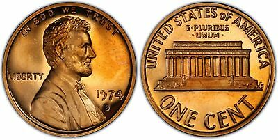 1974-S Proof Lincoln Cent Nice Coins Priced Right Shipped FREE