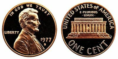 1977-S Proof Lincoln Cent Nice Coins Priced Right Shipped FREE