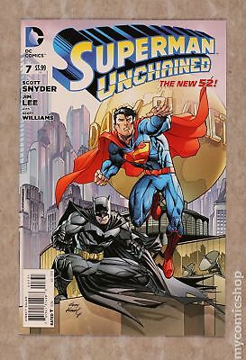 Superman Unchained (DC) #7C 2014 Kubert 1:50 Variant NM 9.4