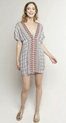 dc3e0562d99fd La Blanca Resortwear Sorrento Embroidered Tunic Dress Swimsuit Cover-Up XL  New!