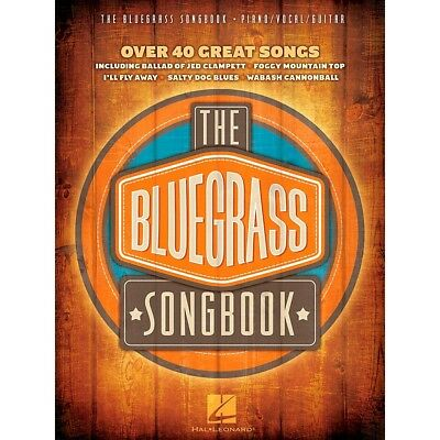 Hal Leonard The Bluegrass Songbook - Over 40 Great Songs Piano/Vocal/Guitar