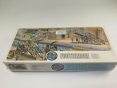 Airfix Ho / Oo Model Railway Kit Footbridge Non Assemblato in Tipo 4 Box