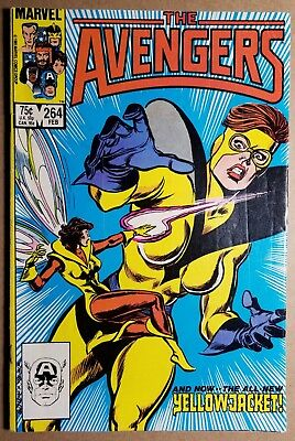 The Avengers #264 Feb 1986 Marvel Vf Free Usa Shipping