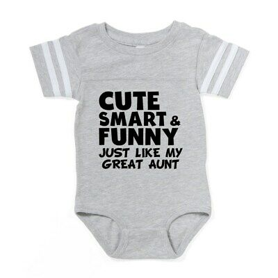 2fe7c2e24 CafePress Cute Smart And Funny Like My Great Aunt Baby Football (315877603)