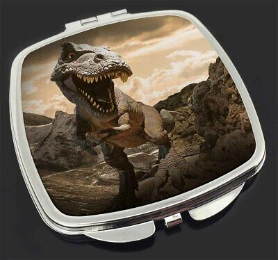 3D Dinosaur by Rocks Make-Up Compact Mirror Stocking Filler Gift, DIN-3CM