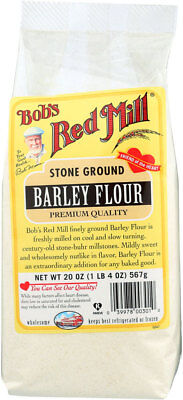 Bob's Red Mill Flour Barley Case of 4 20 oz Kosher