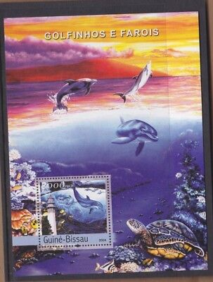 2004 Guinea-Bissau Dolphins MS MUH