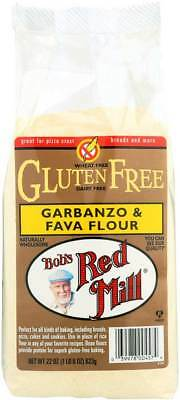 Bob's Red Mill Gluten Free Garbanzo and Fava Bean Flour 22 oz Case of 4 Kosher