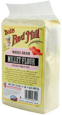 Bob's Red Mill Millet Flour 23 oz Case of 4 Gluten Free