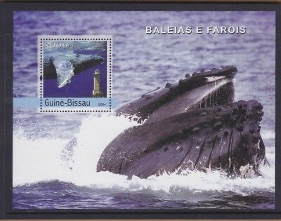 2004 Guinea Bissau Whales MS MUH